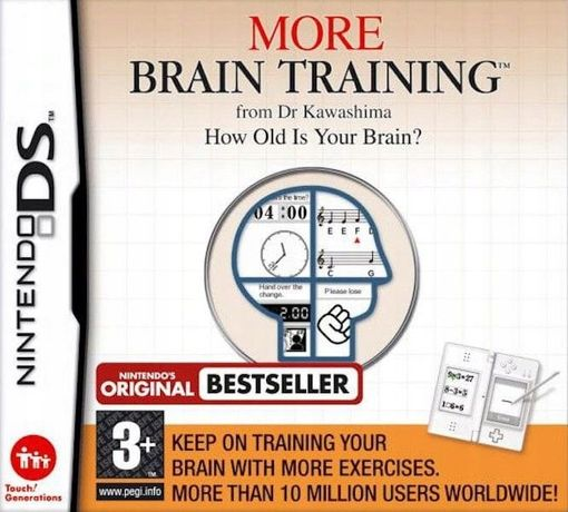 More Brain Training From Dr Kawashima Nintendo Ds