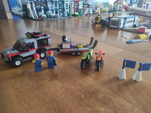 Lego city 4433 samochód do transportu motocykli
