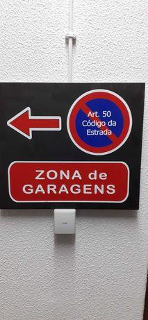Estacionamento proíbido / zona garagens