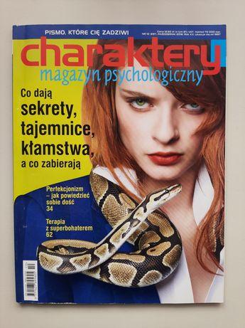 Magazyn psychologiczny Charaktery nr 10, 2016