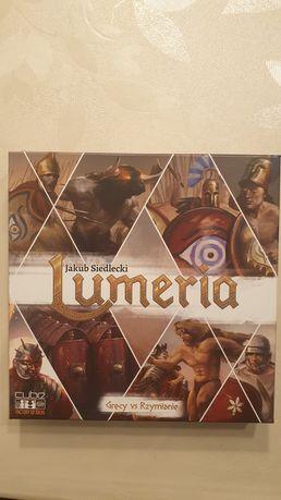 Gra lumeria, jak nowa, karty w koszulkach