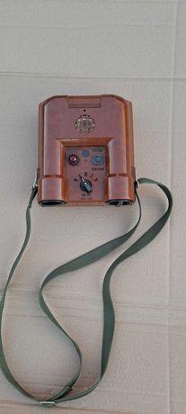 sygnalizator miernik promieniowania RS-70 wojskowy PRL
