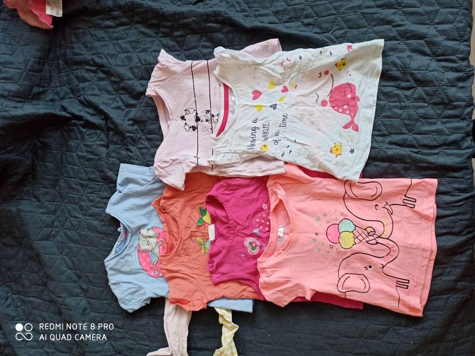 Zestaw bluzeczek roz 74 Olsztyn - image 1