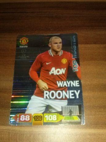 TOP MASTER Wayne Rooney MAN UTD błyszcząca Champions League 2011/12