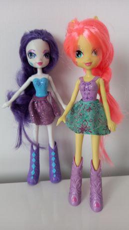 Lalki Rarity i Fluttershy z bajki My Little Pony Equestria Girls
