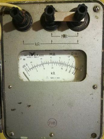 Мегаомметр М1102/1 500в. 1991г.в.