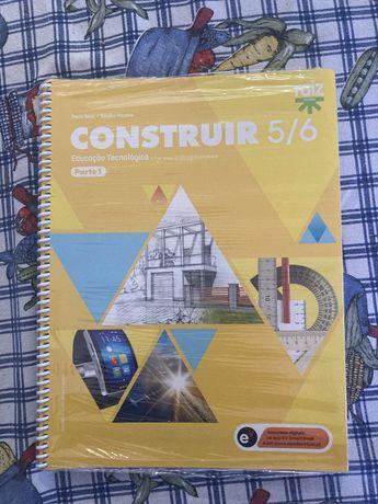 """Livro Educação tecnológica """"construir 5/6"""""""