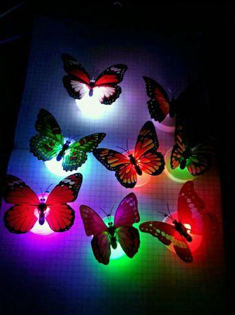 Ночник бабочка, светильник
