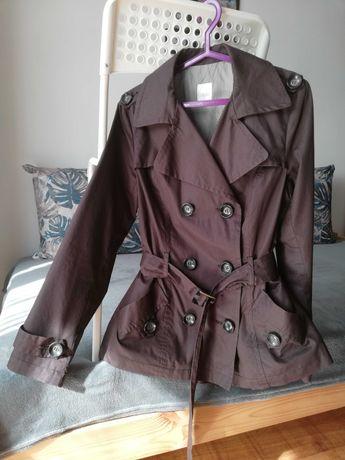 Płaszcz płaszczyk brązowy Camaieu