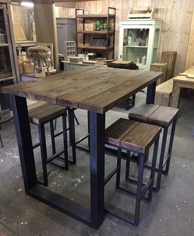 Стол офисный обеденный деревянный