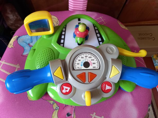 Интерактивная игрушка мотоциклист