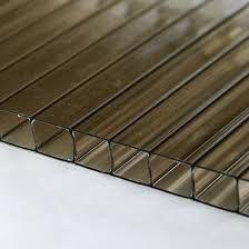 Poliwęglan komorowy 10mm płyty 2100x4000mm bezbarwny, brąz i mleczny