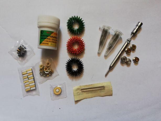 Набор для су-джок иглы магниты кольца