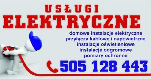 Usługi Elektryczne. Elektryk. Instalacje elektryczne