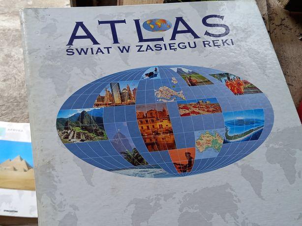 Atlasy świata dla miłośników