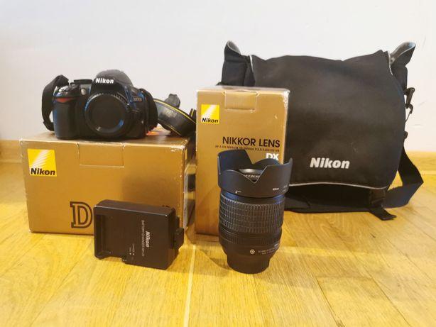 Nikon D3100, Nikkor 18-105, Torba Nikon
