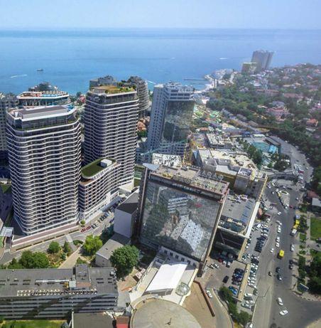 Продам в Одессе 2 комн 95 м2. терраса 14 м2 вид на Генуэзскую, 23 этаж