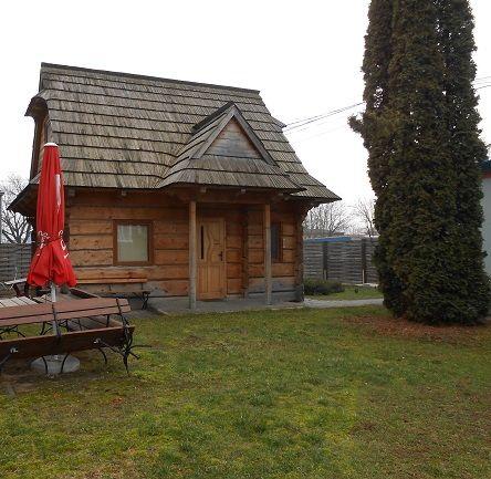 Chata góralska z pełnych bali jodłowych sprzedam