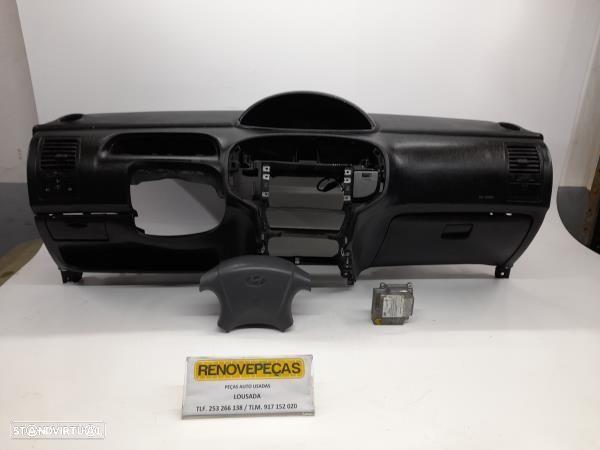 Kit De Airbags C/Tablier Hyundai Matrix (Fc)