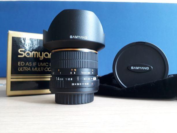 Obiektyw Samyang 14mm f/2.8 ED AS IF UMC (Sony A)