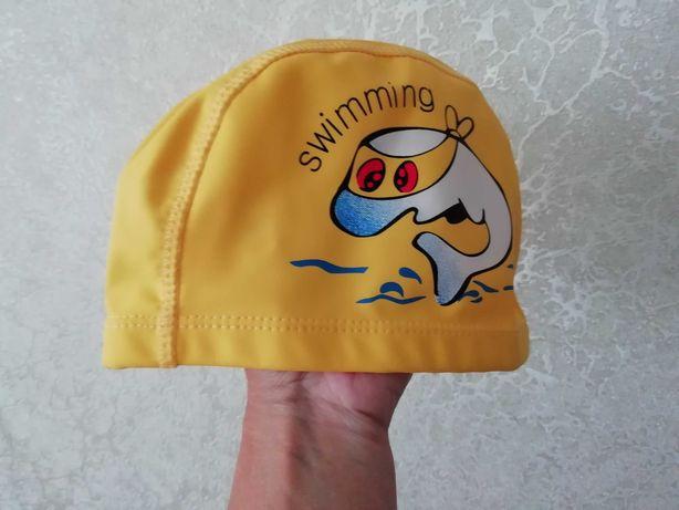 Шапочка детская для бассейна плавания р. 46-56