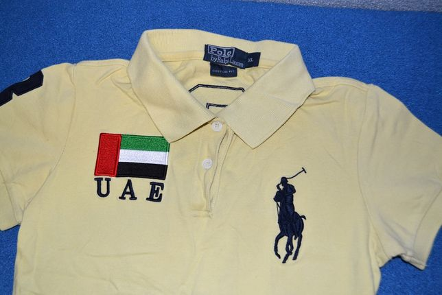 Футболка Polo by Ralph Lauren желтая (M)