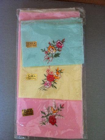 Платок носовой с вышивкой, Китай новый - 10 штук упаковка.