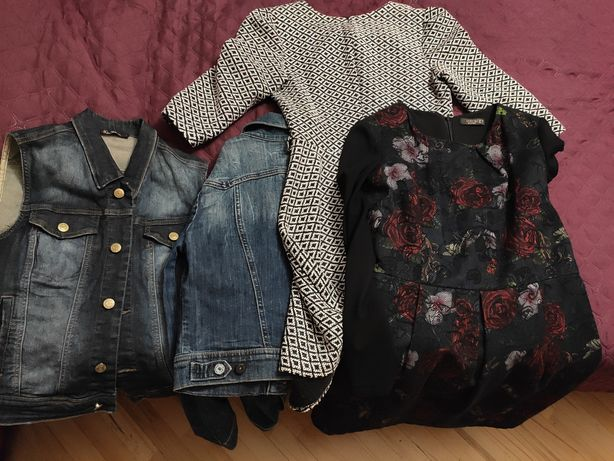 Пакет одежды для девушки М-Л размера