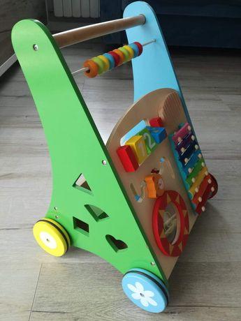 Chodzik dla dzieci drewniany
