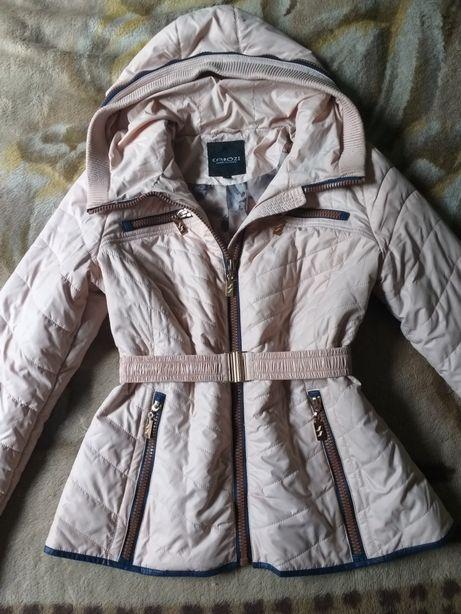 Куртки Деми Осень Зима. Пудра розовая красная хаки зеленая. Пуховик