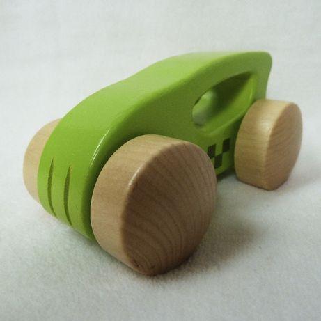 Деревянная эко игрушка машинка Hape Швейцария в новом состоянии