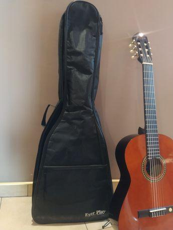 Gitara klasyczna ciemne drewno