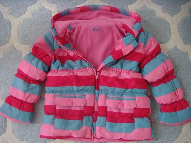 kurtka na polarze dla dziewczynki 3 / 4 lata