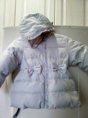Куртка пуховик 82см