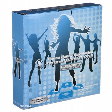 Танцевальный коврик usb для ПК компьютера PC Dance mat X-treme