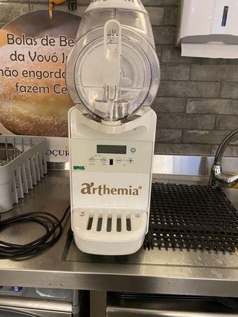 Maquina gelados arthemia