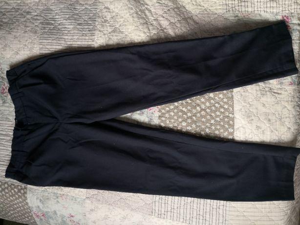 Spodnie Zara Reserved rozmiar 152 chłopiec, granat, błekit