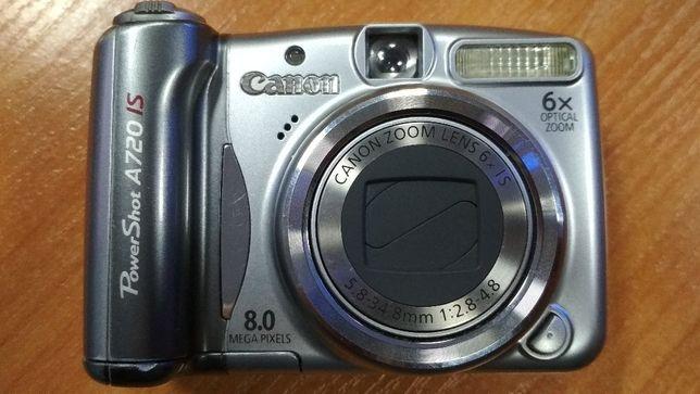 Фотоапарат фото камера Canon PowerShot A720 IS