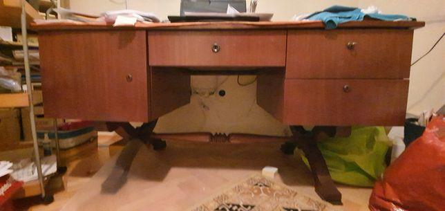 Rewelacyjne, ekskluzywne biurko Bidermeier po renowacji
