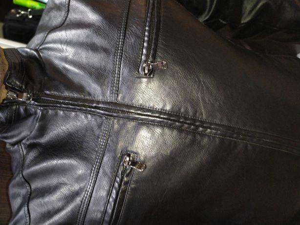Куртка новая из экокожи высокого качества стильная