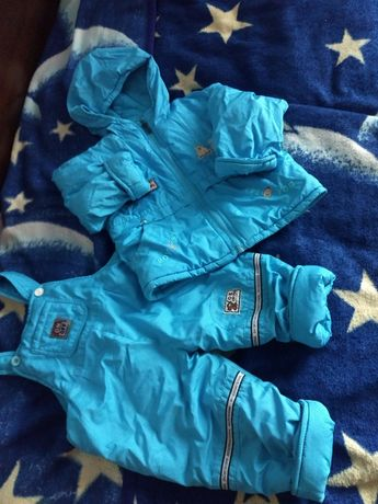 Костюм комбинезон куртка для мальчика размер 80/86+6