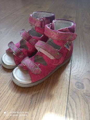 Różowe sandały Bartek rozmiar 26