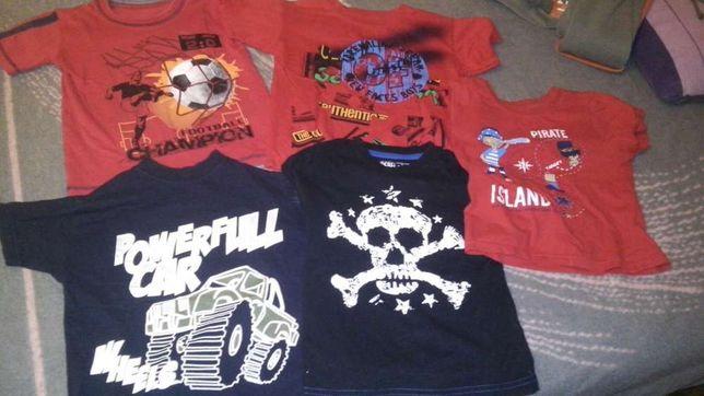 koszulki 3-4 lata