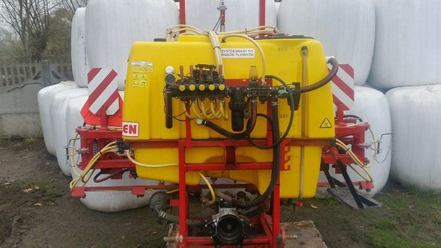 Opryskiwacz TAD-LEN 615 600L15mElektrozawór Hydraulika Pilmet