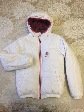 Лыжная куртка двухсторонняя Wedze warm reverse на рост 142 см