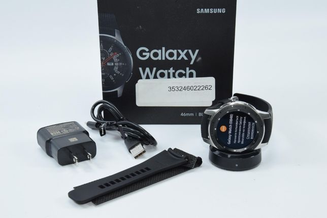 Умные часы Samsung Galaxy Watch 46mm Silver (SM-R800) #14437