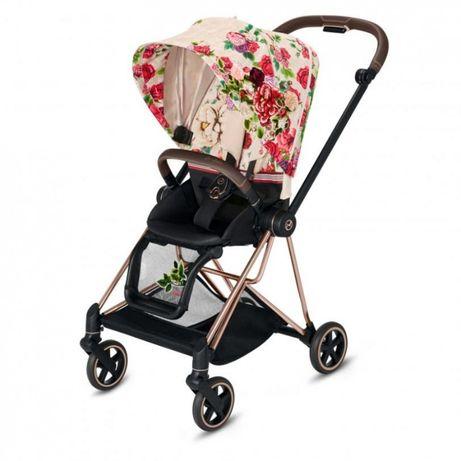 Прогулочная коляска Cybex Mios Spring Blossom Light шасси RoseGold