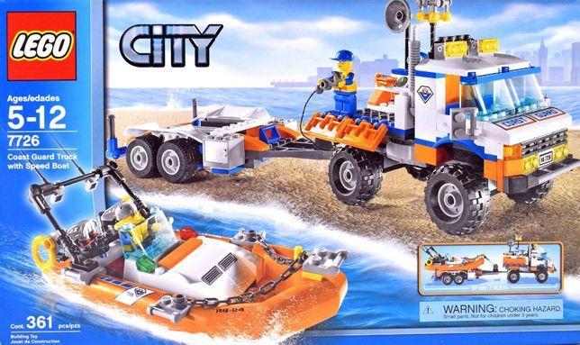 Лего 7726 - Город - Грузовик берегового наблюдения и скоростной катер