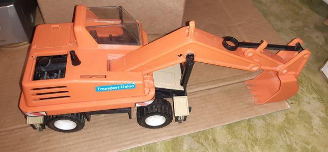 Zabawka prl koparka playmobil 1979