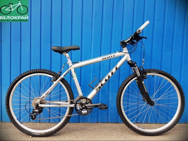 """Спортивний алюмінієвий 26"""" велосипед Scott на Shimano Deore #Велокрай"""